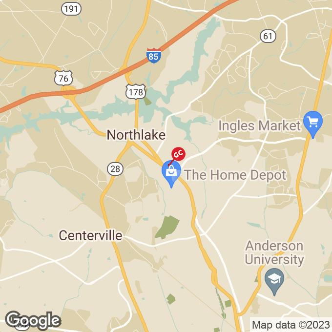 Golden Corral Clemson Blvd., Anderson, SC location map
