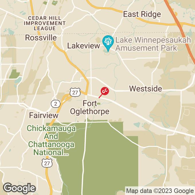 Golden Corral Battlefield Pkwy, 2-a, Fort oglethorpe, GA location map