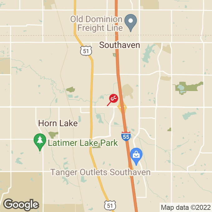 Golden Corral Goodman Road, Horn lake, MS location map