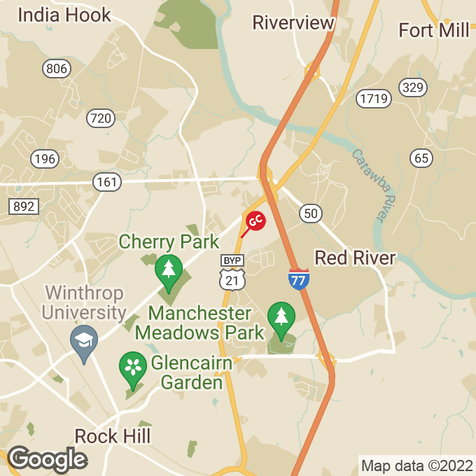 Golden Corral Anderson Road N, Rock hill, SC location map