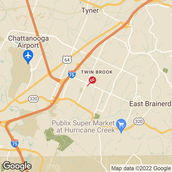 Golden Corral Gunbarrel Road, Chattanooga, TN location map
