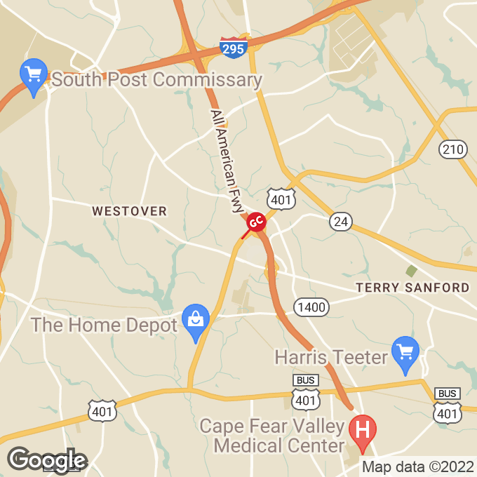 Golden Corral Skibo Road, Fayetteville, NC location map