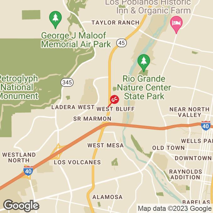 Golden Corral Coors Blvd Nw, Albuquerque, NM location map
