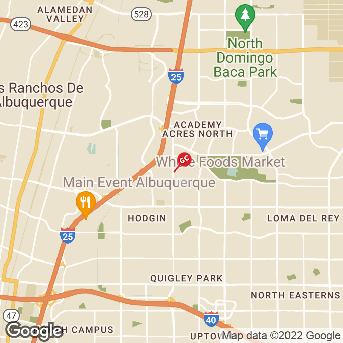 Golden Corral San Mateo Blvd Ne, Albuquerque, NM location map