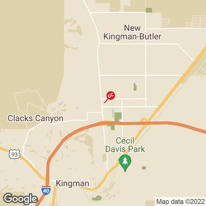 Golden Corral Stockton Hill Road, Kingman, AZ location map