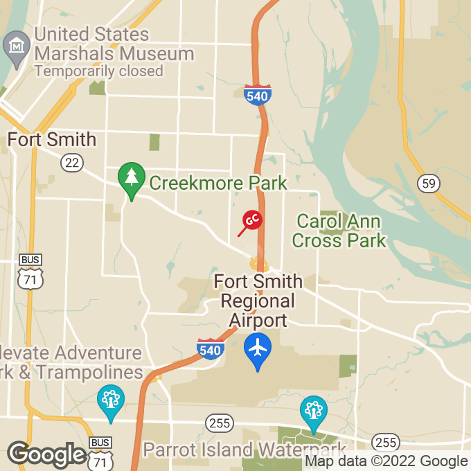 Golden Corral S. Waldron Avenue, Fort smith, AR location map