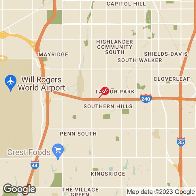 Golden Corral Sw 74th Street, Oklahoma city, OK location map