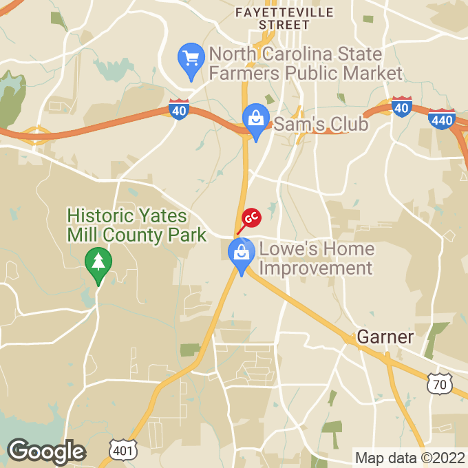 Golden Corral Grenelle Street, Raleigh, NC location map