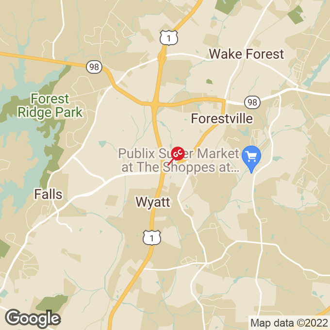 Golden Corral Capital Blvd., Wake forest, NC location map