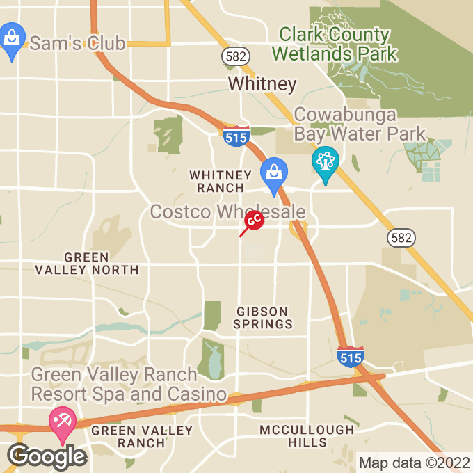 Golden Corral W Sunset Rd, Henderson, NV location map