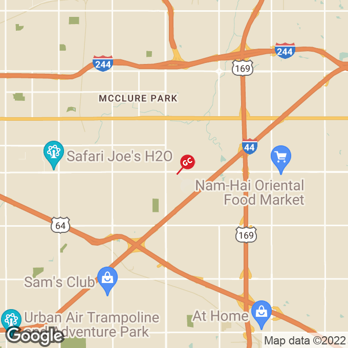 Golden Corral East 21st Street, Tulsa, OK location map