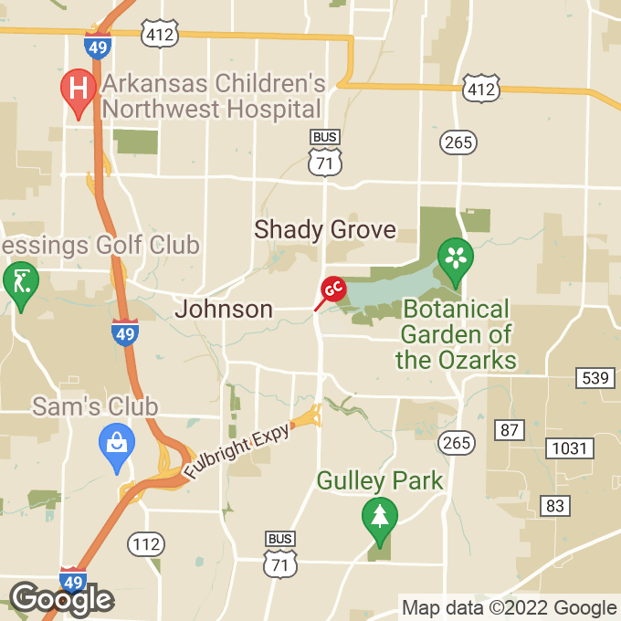 Golden Corral North College Ave, Fayetteville, AR location map