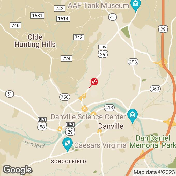 Golden Corral Holt Garrison Parkway, Danville, VA location map