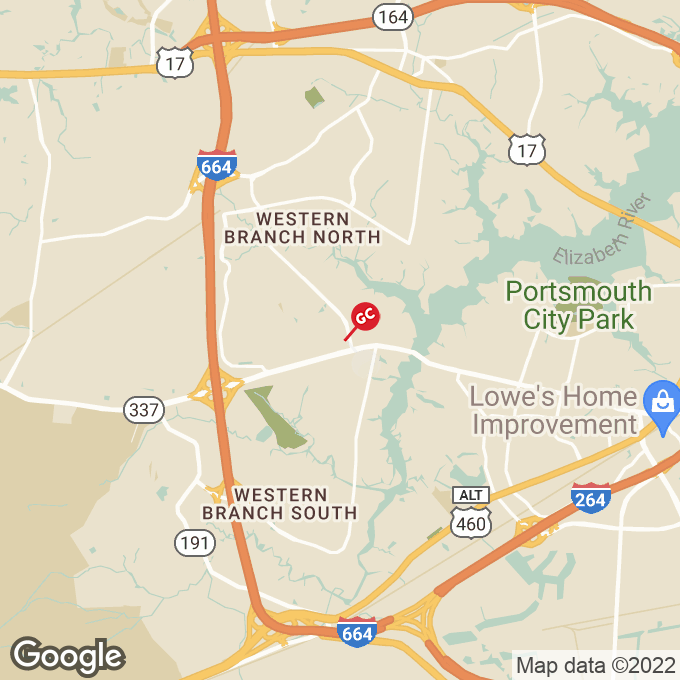 Golden Corral Chesapeake Square Ring Rd, Chesapeake, VA location map