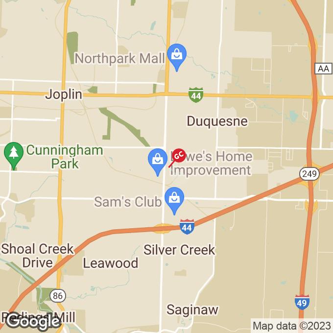 Golden Corral Range Line Road, Joplin, MO location map