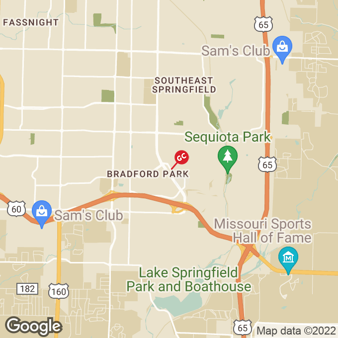 Golden Corral E. Primrose Place, Springfield, MO location map