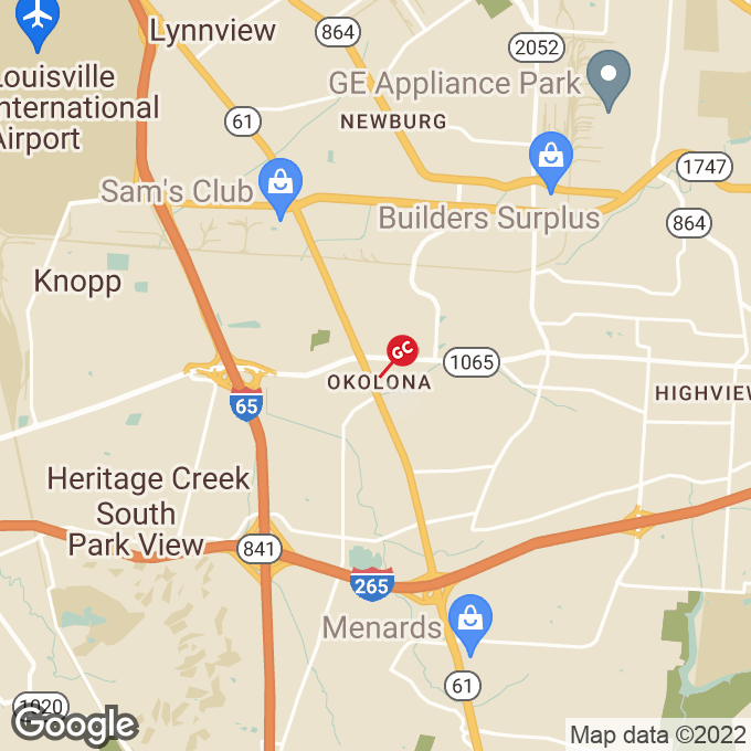 Golden Corral Preston Highway, Louisville, KY location map