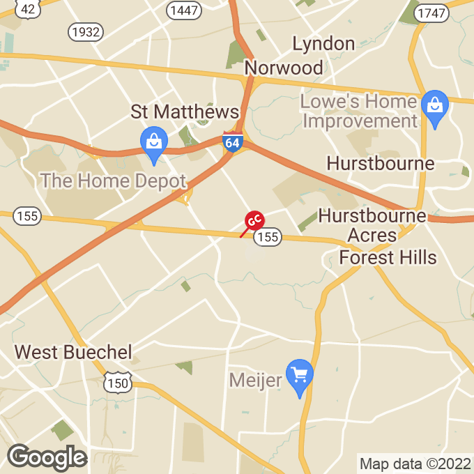 Golden Corral Taylorsville Road, Louisville, KY location map