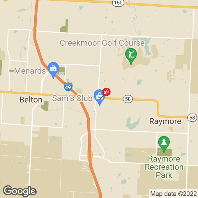 Golden Corral W Foxwood Drive, Raymore, MO location map
