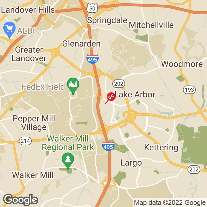 Golden Corral Shoppers Way, Largo, MD location map