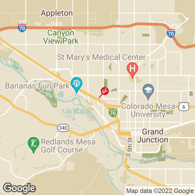 Golden Corral Independent Avenue, Grand junction, CO location map