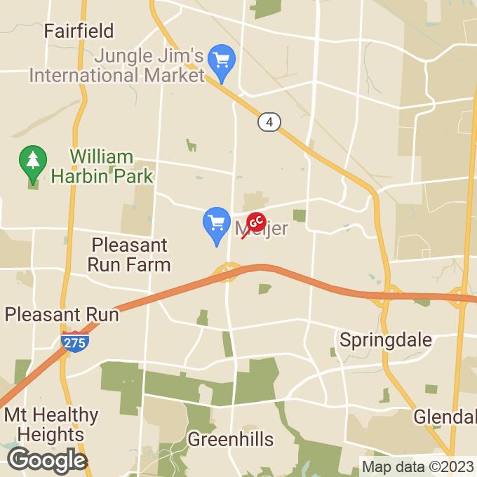 Golden Corral Kolb Drive, Fairfield, OH location map