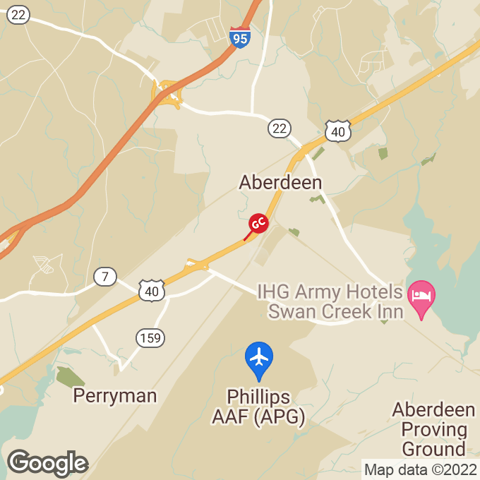 Golden Corral S. Philadelphia Blvd., Aberdeen, MD location map