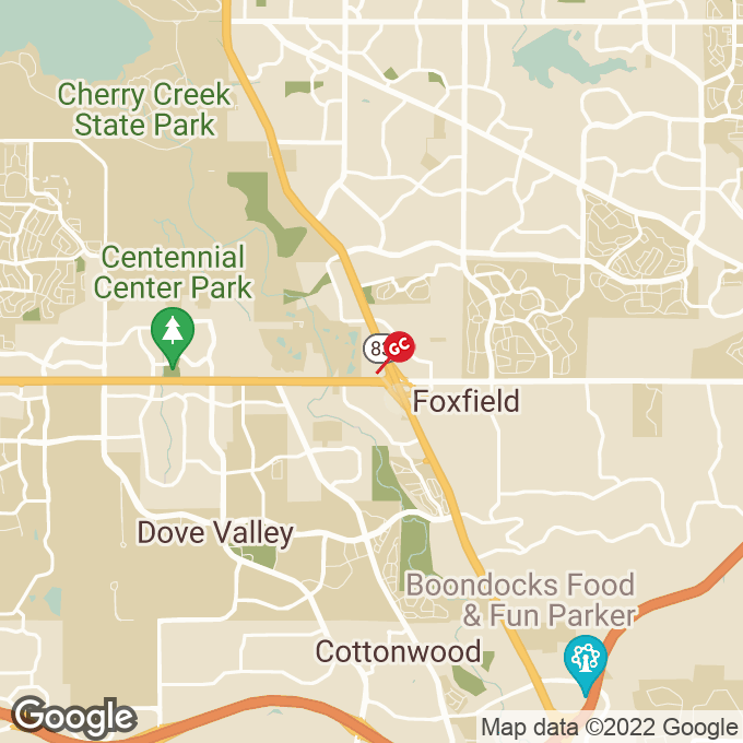 Golden Corral E. Arapahoe Road, Centennial, CO location map
