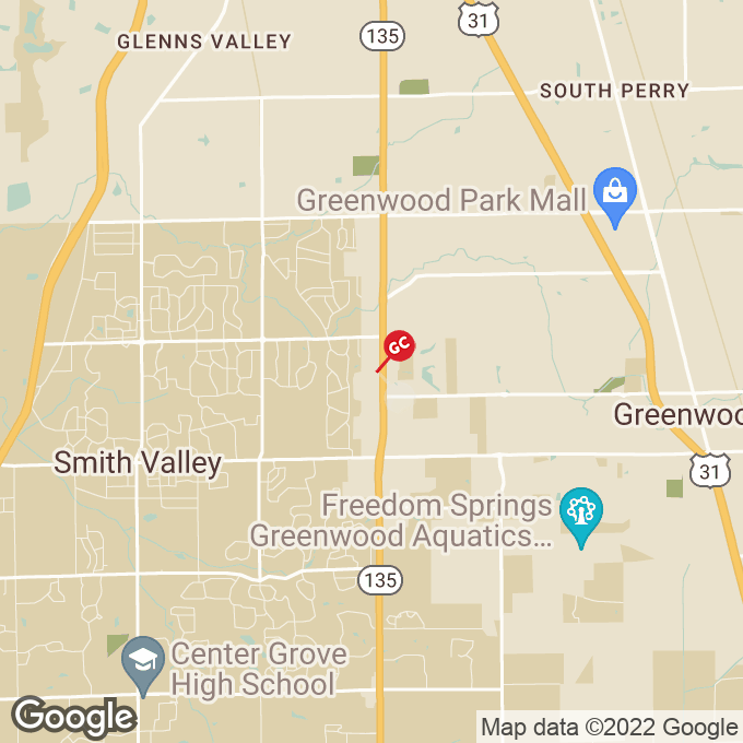 Golden Corral Marlin Dr, Greenwood, IN location map