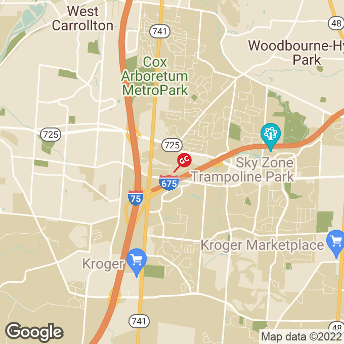 Golden Corral Kingsridge Drive, Dayton, OH location map