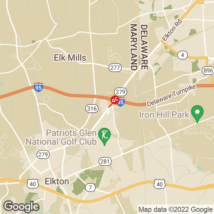 Golden Corral Belle Hill Rd, Elkton, MD location map