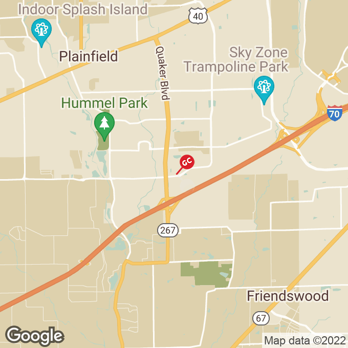 Golden Corral Hadley Road, Plainfield, IN location map