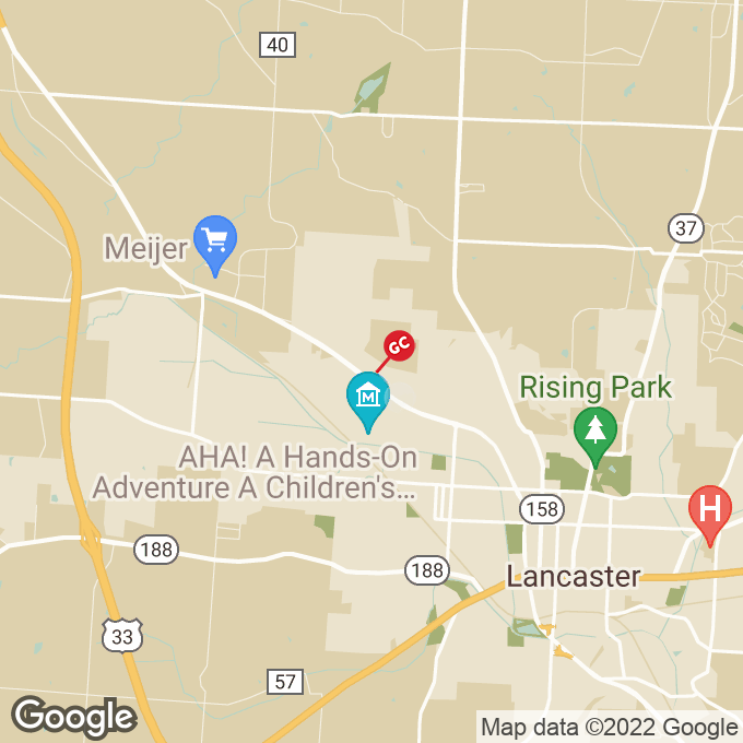 Golden Corral N. Memorial Drive, Lancaster, OH location map
