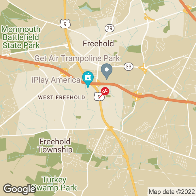Golden Corral Us Hwy 9, Freehold, NJ location map