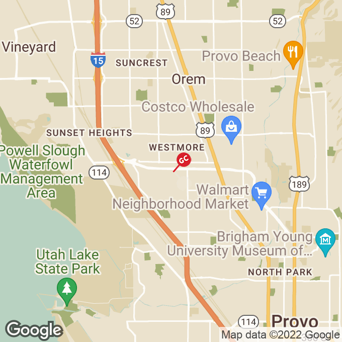 Golden Corral West University Parkway, Orem, UT location map