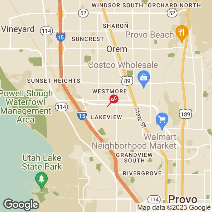 Golden Corral West University Parkway, Orem, UT location map