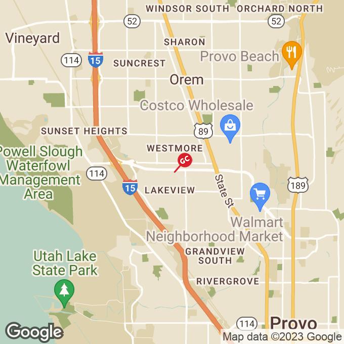 Golden Corral W University Parkway, Orem, UT location map