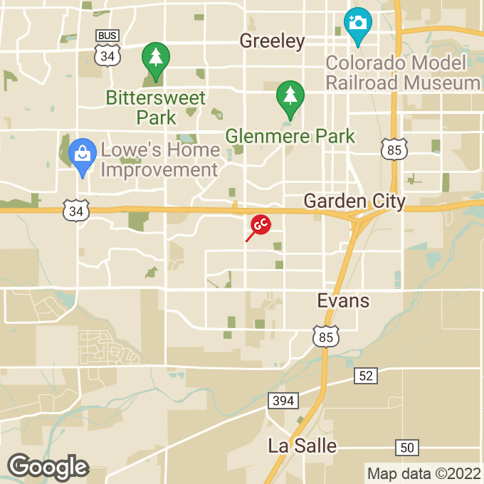 Golden Corral 23rd Avenue, Greeley, CO location map