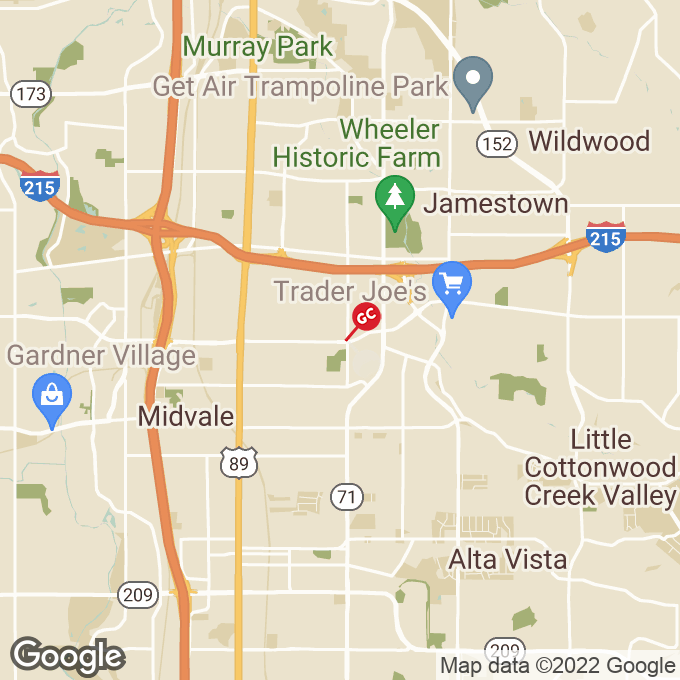 Golden Corral East 7200 South, Midvale, UT location map