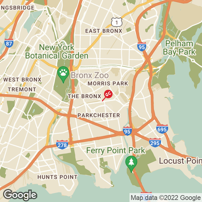 Golden Corral E. Tremont Ave., Bronx, NY location map