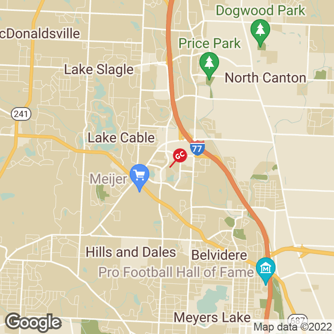 Golden Corral Dressler Road, Nw, Canton, OH location map