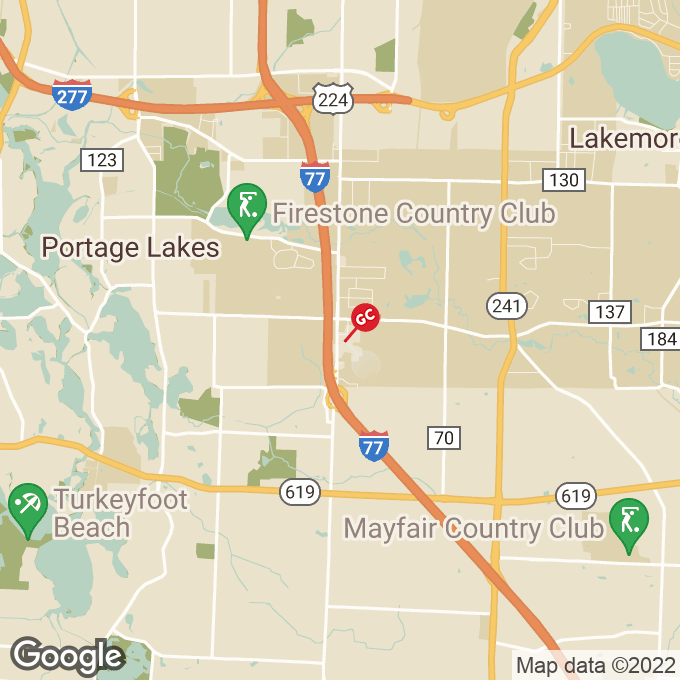 Golden Corral South Arlington Road, Akron, OH location map