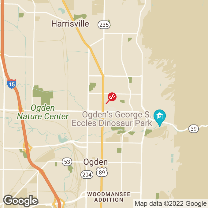 Golden Corral Washington Blvd., Ogden, UT location map