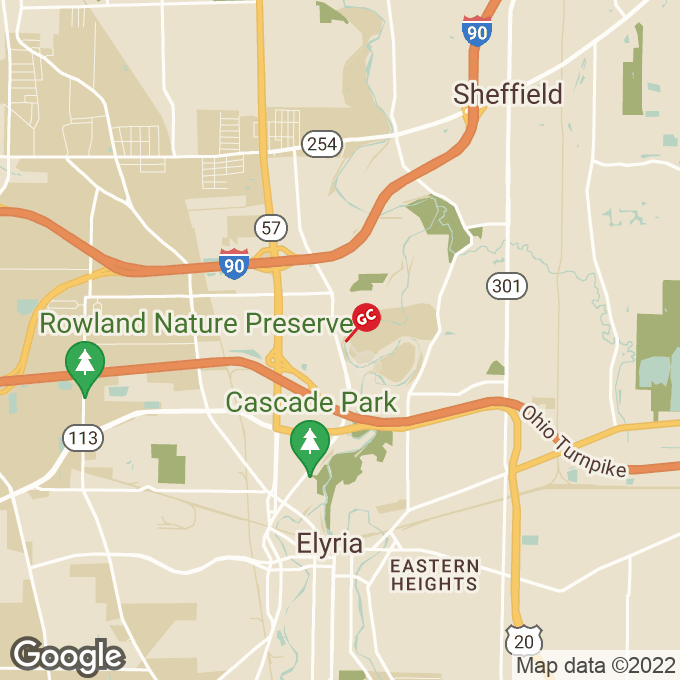Golden Corral West River Road N., Elyria, OH location map