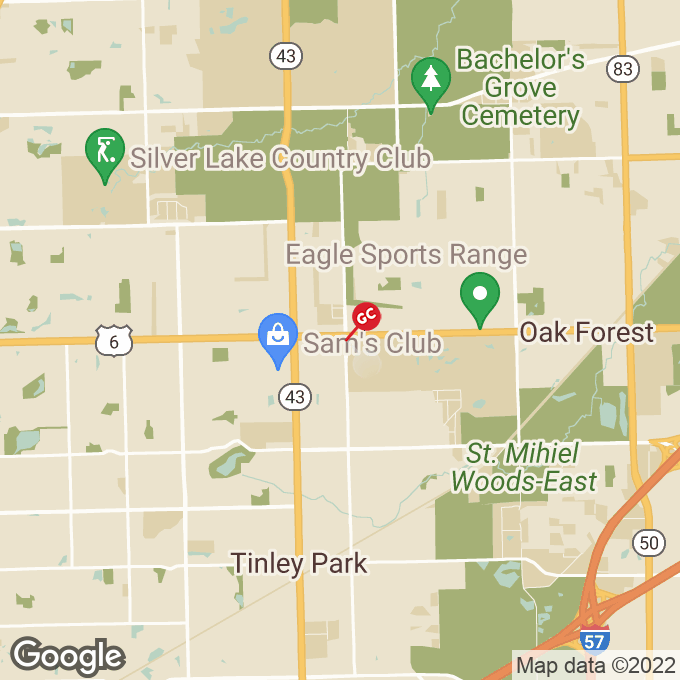 Golden Corral W 159th Street, Tinley park, IL location map