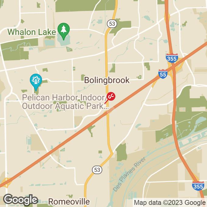 Golden Corral Brookview Lane, Bolingbrook, IL location map
