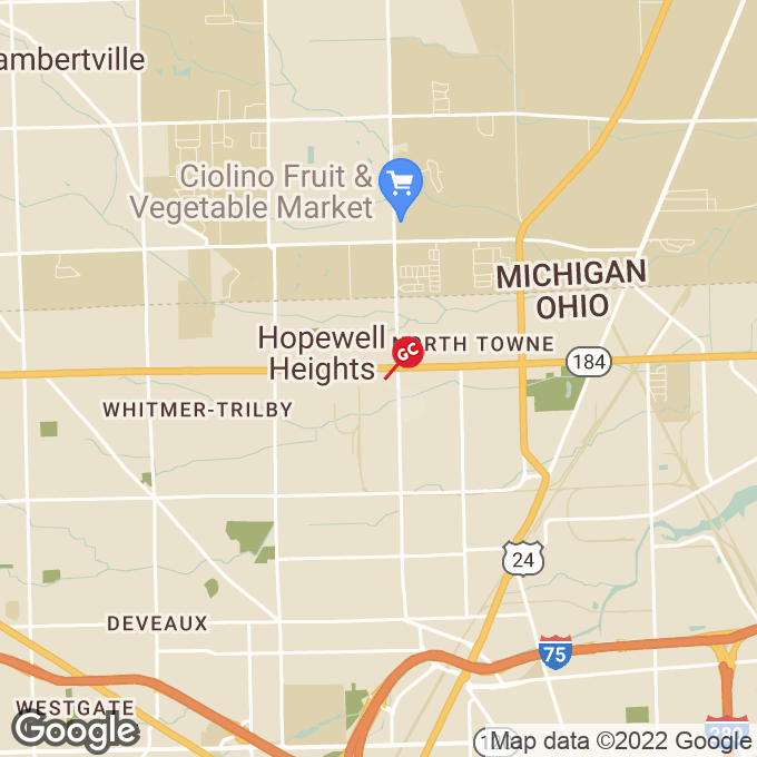 Golden Corral Opportunity Drive, Toledo, OH location map