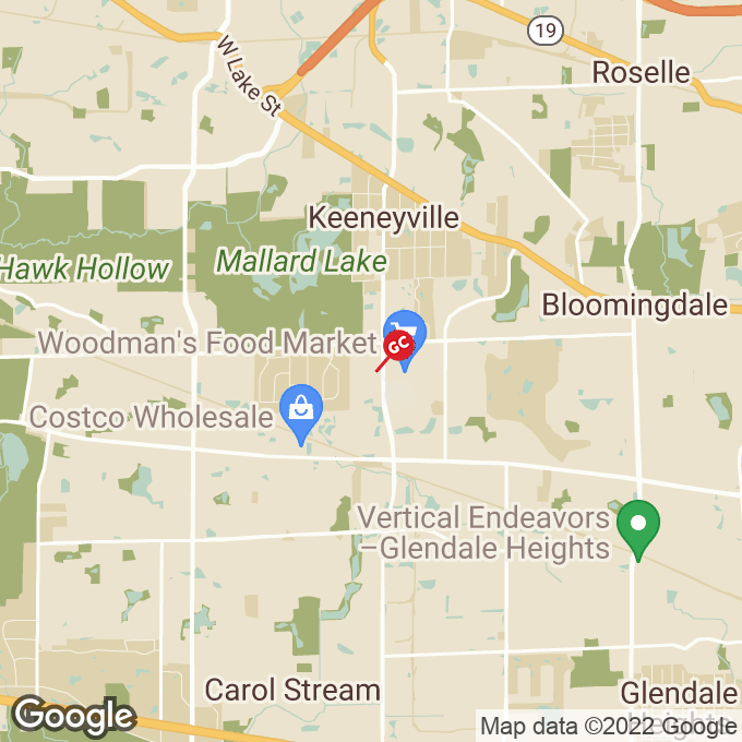 Golden Corral S Gary Ave, Bloomingdale, IL location map