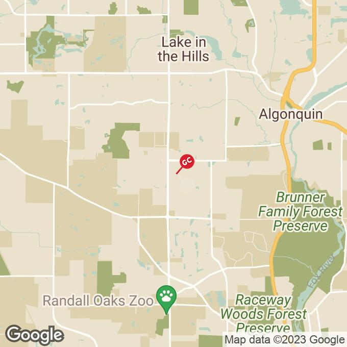Golden Corral S. Randall Road, Algonquin, IL location map