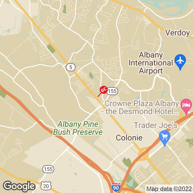 Golden Corral Central Avenue, Colonie, NY location map